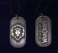 Медальон World of Warcraft - Alliance  Pewter