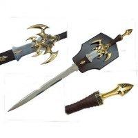 World of Warcraft Dark Elves Sword 1 : 1 Full Metal Replica (с небольшим дефектом)
