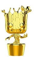 Фигурка Funko Pop! Marvel - Groot (Gold Chrome) Exclusive