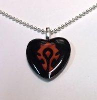 Медальон-сердце World of Warcraft Horde