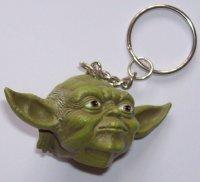 Брелок Star Wars Yoda Head Keychain