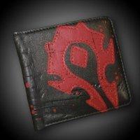 Кошелёк - World of Warcraft Horde Crest Leather Wallet