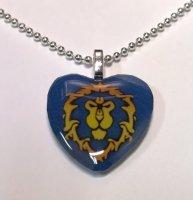 Медальон-сердце World of Warcraft Alliance