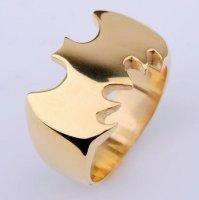 Кольцо Batman City Hero Metal (цвет: золотой)