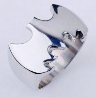 Кольцо Batman City Hero Metal (цвет: серый)