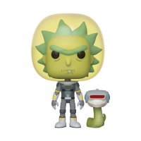 Фигурка Фанко Рик и Морти Funko Pop! Rick and Morty - Space Suit Rick with Snake