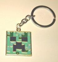 Брелок Minecraft метал №3