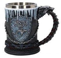 Кружка Game of Thrones Stark Mug Winter is Coming - Игра престолов Зима близко